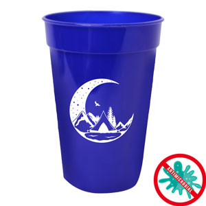 ANTIMICROBIAL STADIUM CUP, 17 OZ