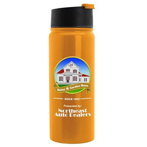 4CP DIGITAL IMPRINT SUNSHINE FLIP LID VACUUM BOTTLE, 19 OZ