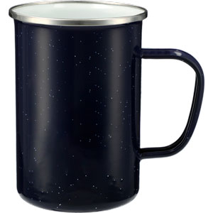 TALL METAL CAMPFIRE MUG, 22 OZ