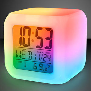COLOR MORPH ALARM CLOCK