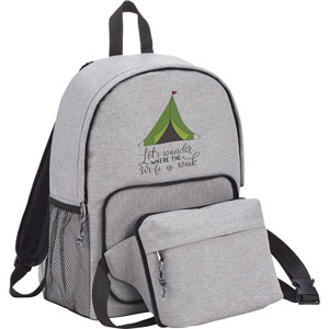 ECOSMART EXPEDITION FANNY & BACKPACK