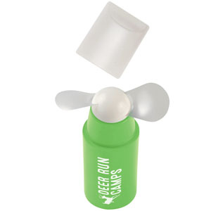 MINI FAN WITH REMOVABLE CAP