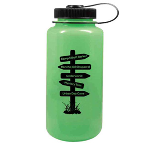 GLOW IN THE DARK NALGENE�, 32 OZ WIDE MOUTH