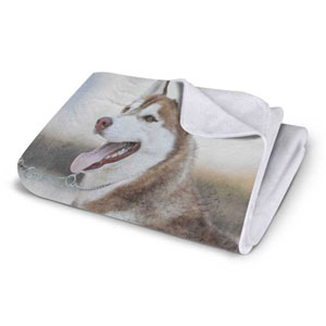 VELVET PLUSH FLEECE PHOTO BLANKET, 30