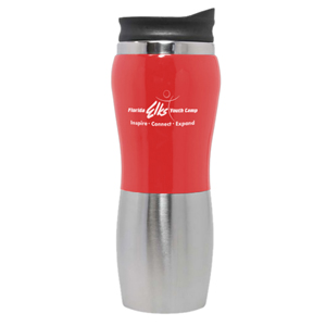 STAINLESS INTERIOR SUPERNOVA TUMBLER, 14 OZ