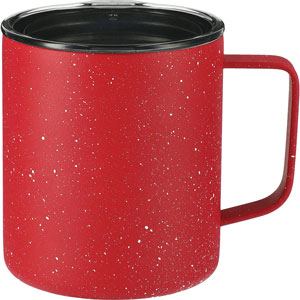 SPECKLED VACUUM CAMPER MUG, 14 OZ
