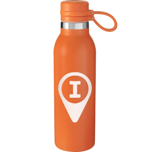 SUNSHINE TETHERED VACUUM BOTTLE, 20 OZ