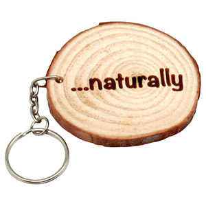 WOOD KEYRING COOKIE