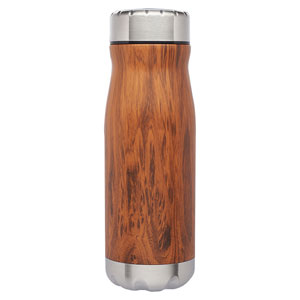 WOODGRAIN VACUUM WIDEMOUTH, 18 OZ
